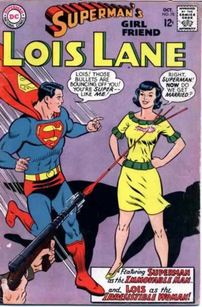 Lois Gets Powers.  Again Again.