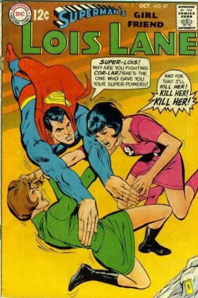 Lois Gets Powers.  Again.