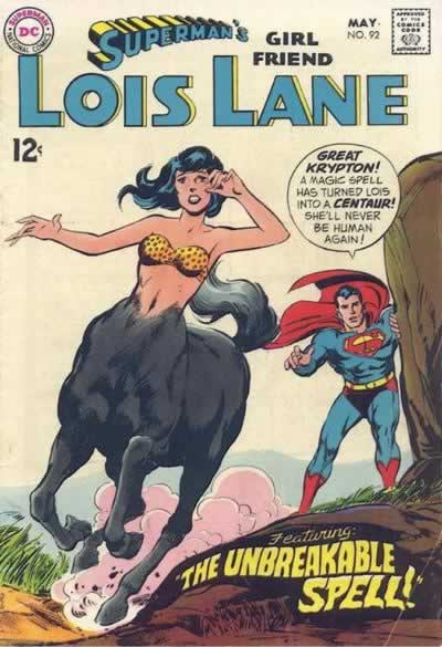 Lois Turns Into a Centaur.