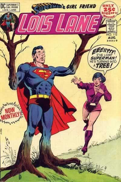 Superman Turns Into a Tree.