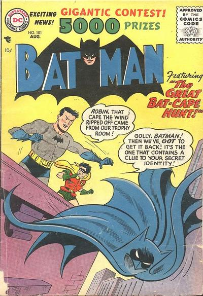 """The Great Bat-Cape Hunt!"""