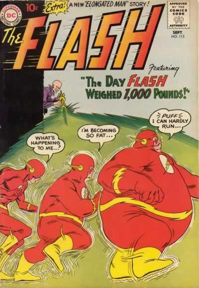 """The Day Flash Weighed 1,000 Pounds!"""