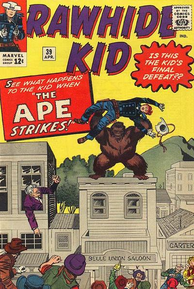 """The Ape Strikes!"""