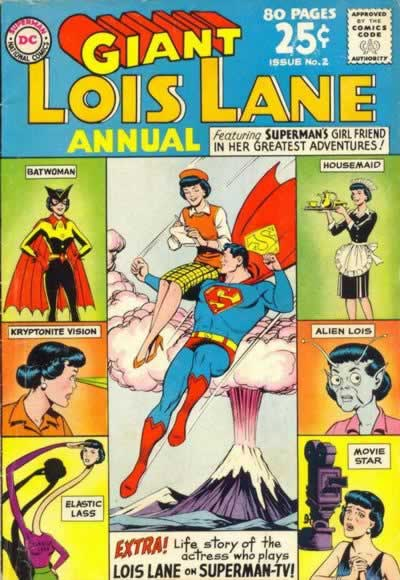 "The Thrilling ""What if Lois Were a Housemaid?"" Story."