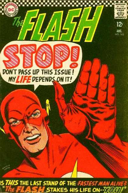 """The Flash Stakes His Life On--You!"""