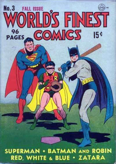 World's Finest:  Doing Everything But Fight Crime.