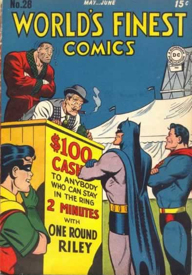 Batman and Superman Try to Pick a Fight.