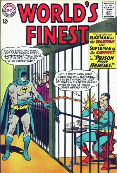 Batman Imprisons Superman.