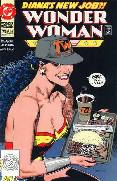Wonder Woman Gets a Day Job.