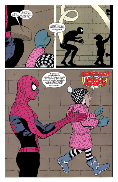 Spidey Would Make Pedobear Proud.