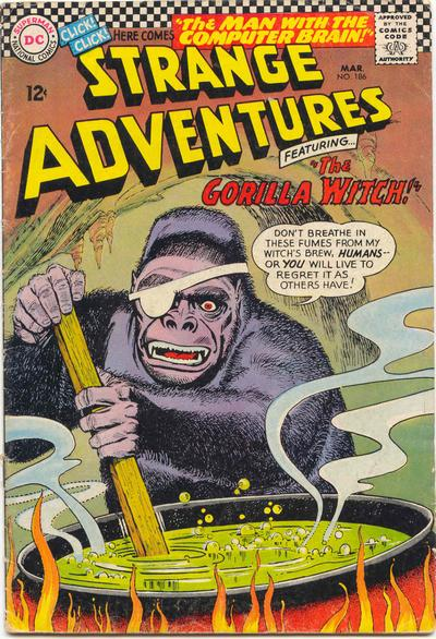 """The Gorilla Witch!"""