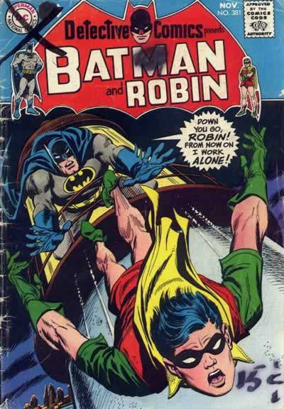 Batman Kills Robin.