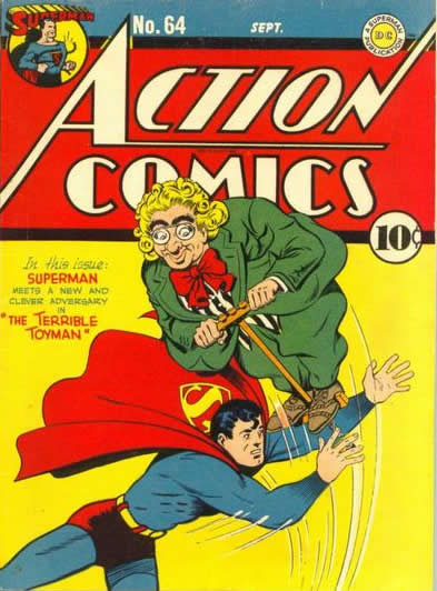 The Debut of the Toyman.