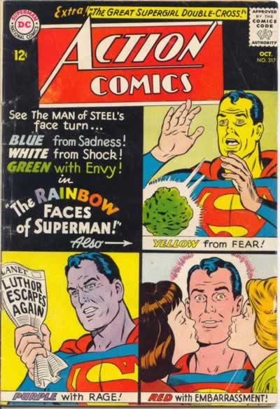 The Many Colors of Superman.