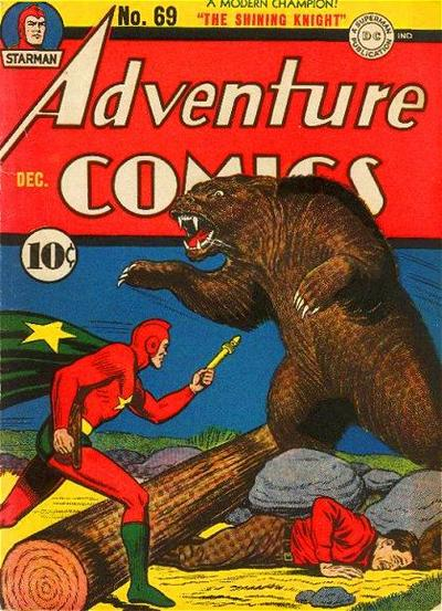 Starman Fights a Bear.