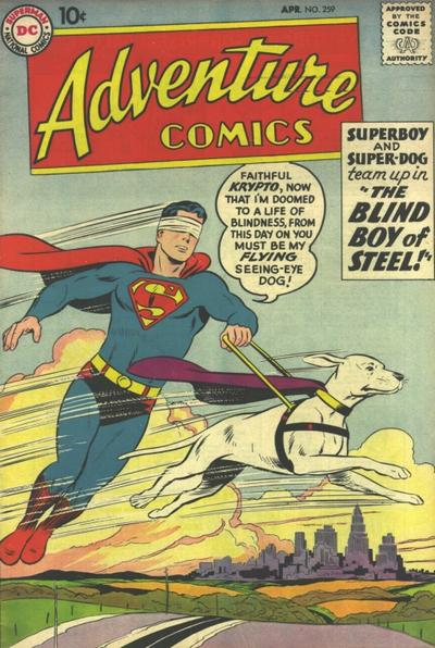 """The Blind Boy of Steel!"""