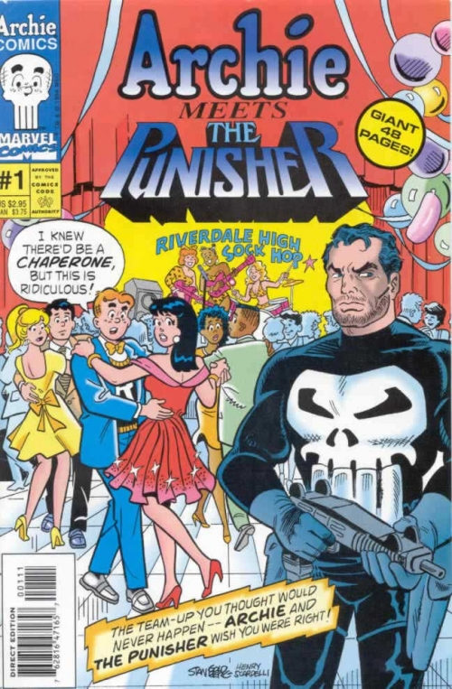 Archie Meets the Punisher.