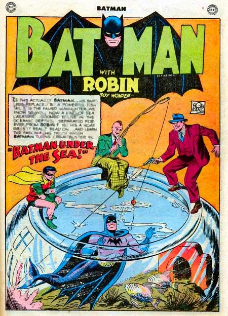 Batman and the Life Aquatic.