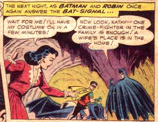 Batman on Women's Liberation.