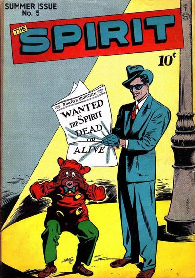 So is Spirit's Sidekick Supposed to be a Clown?