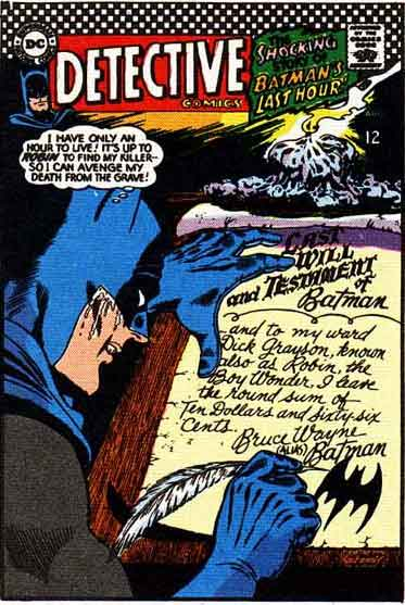 Batman Makes the Least of His Final Hours.
