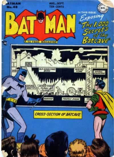 """The 1,000 Secrets of the Batcave!"""