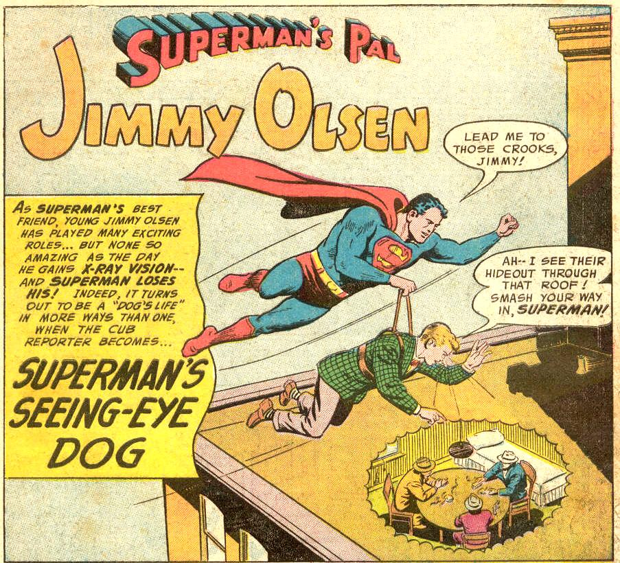 """Superman's Seeing-Eye Dog!"""