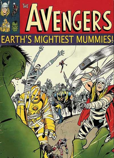 """Earth's Mightiest Mummies!"""