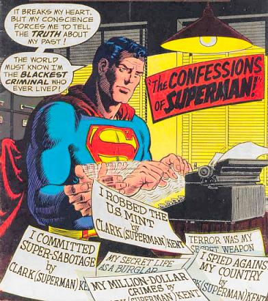 """The Confessions of Superman!"""