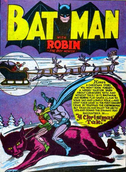 A Batman and Robin Christmas Tale.