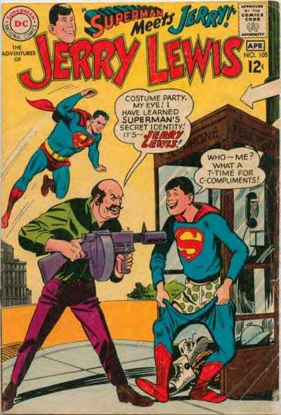 Jerry Lewis Meets Superman.