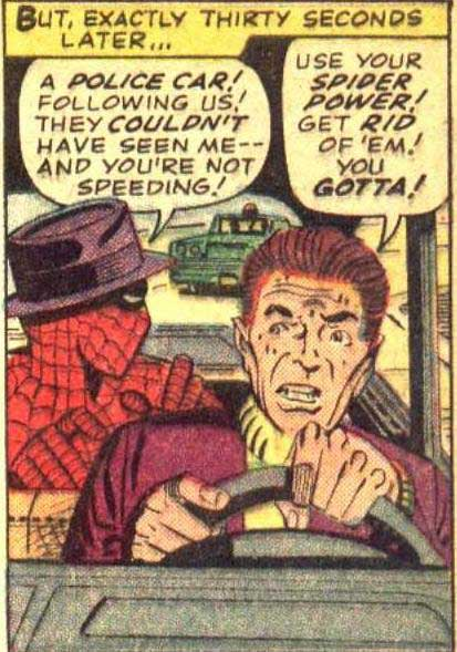 Spider-Man Wears a Sporty Hat.
