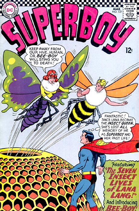 """The Seven Insect Lives of Lana Lang!"""