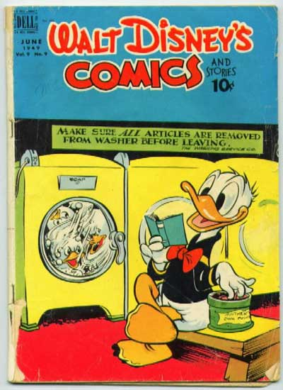 Donald Duck:  Evil Incarnate.