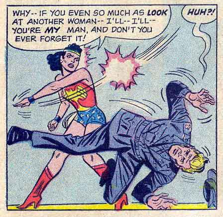 Wonder Woman Makes For a Very Insecure Girlfriend.