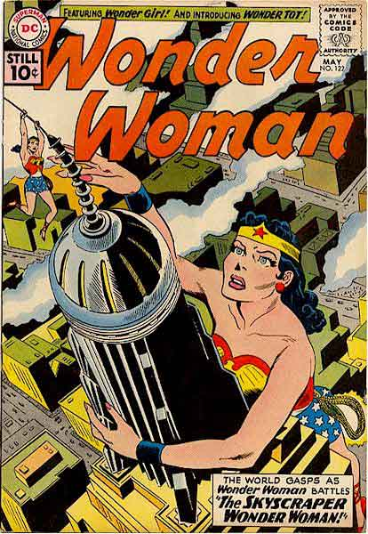 Wonder Woman vs. A Giant Other Wonder Woman.