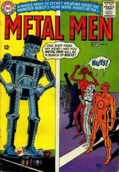 Metal Men vs. Giant Penis-Headed Robot