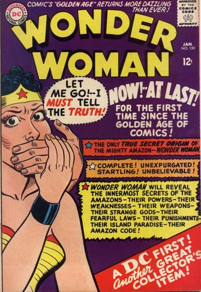 We Already Know the Truth, Wonder Woman.