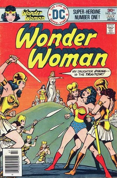 Wonder Woman Captured by the Ass-Headed Amazons.