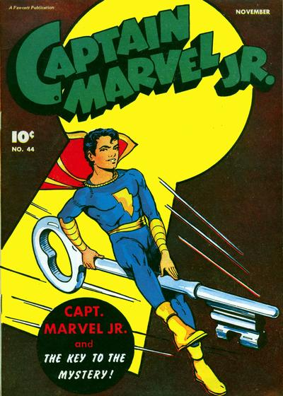 No, Captain Marvel Jr.!  I Will Not Be Seduced.