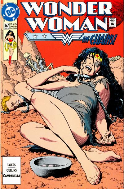 "Hey, ""Wonder Woman In Chains!"" is the Actual Title This Time."