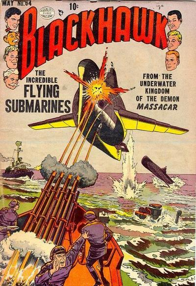 We All Live in a Flying Submarine.