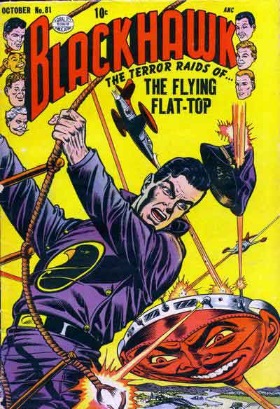 """The Terror Raids of... The Flying Flat-Top!"""