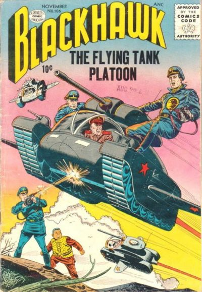 """The Flying Tank Platoon!"""