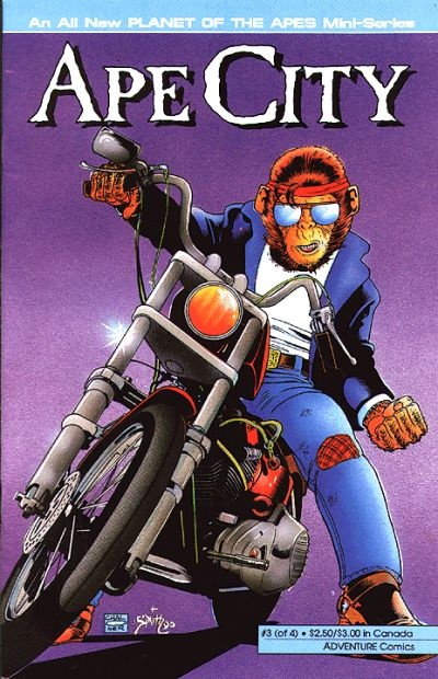 So When Exactly Did Planet of the Apes Have Biker Chimps?