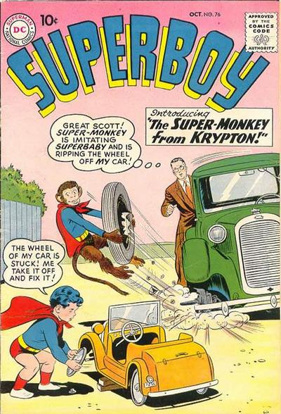 """The Super-Monkey From Krypton!"""