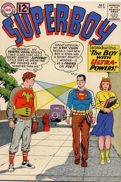 Superboy Checkin' Out the Other Boys.