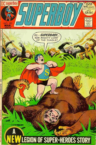 Superbaby:  King of the Apes.