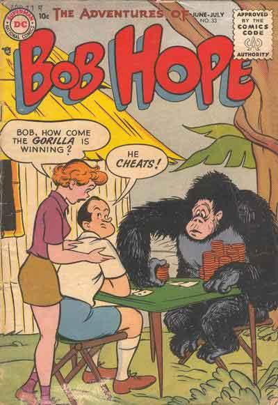 Bob Hope Knows Better Than to Piss Off a Gorilla.