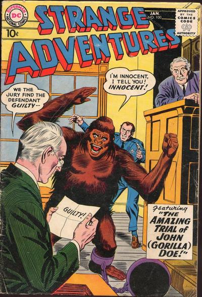 """The Amazing Trial of John (Gorilla) Doe!"""